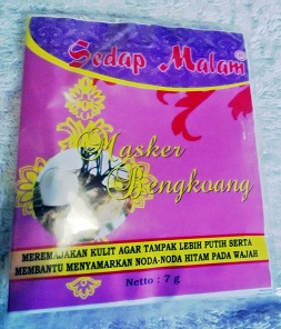 Masker Bengkoang Sedap Malam Toko Herbal Semarang